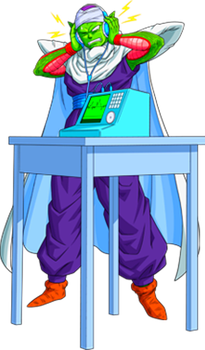 Piccolo with headphones by alexiscabo1