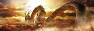 Dragon of the West Banner by imaximus