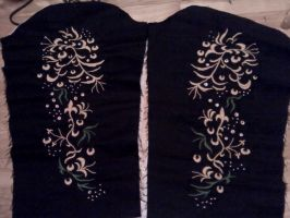 WIP Mahmut 5 - Sleeves embroidery by simakai
