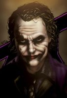 Ledger Joker by JWadeWebb