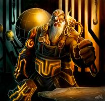 The Forge Master by ManuDGI