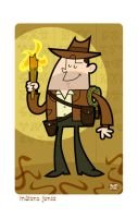 Indiana Jones by Montygog