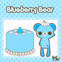 Blueberry Bear by sugarlette