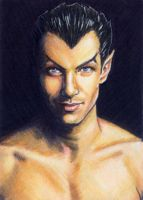 Namor Sketch Card by veripwolf