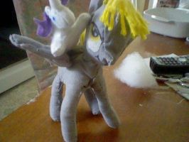 rarity and derpy hooves by darklugia666