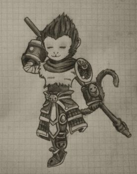 Young Wukong by SettoriQ