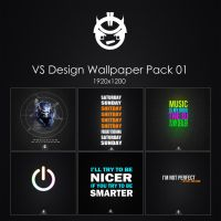 VS Design Wallpaper Pack 01 by VS-Design