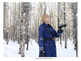 Under the same snow. by eririn-dA