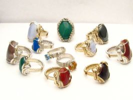 Rings By Sean at J and S Gems by JandSGems