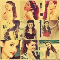 Ariana Grande~  Collage by BetthinaRedfield