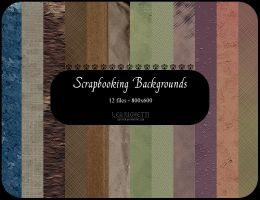 Scrapbooking backgrounds by dethitastock