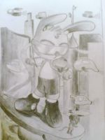 future rabbit the sketch by warlock1291