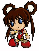 Devil Hunter Yohko chibi by Kasandra-Callalily