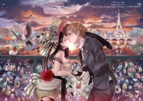 Pont des arts by kawacy