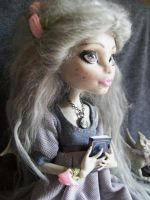 Monster High Custom Regency Era Rochelle 6 by AdeCiroDesigns