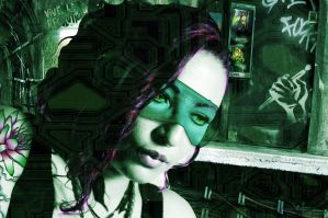 Nephtys in cyberspace by SHAKALone