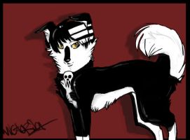 Death The Collie. by Taviee