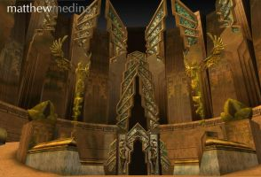 Temple of Ascension by barefootmatthew