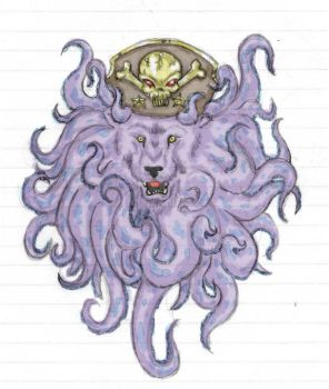 Lion Octopus Captain by PetersonAntinossi