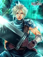 FF7 Remake: Cloud Strife by SaraSama90