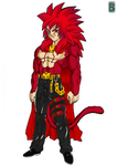 DBZ Universe : King SSJ 4 by DarkBane95