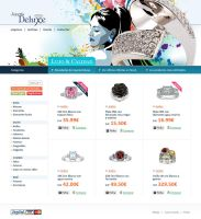 Jewelry Store Web Design by lKaos