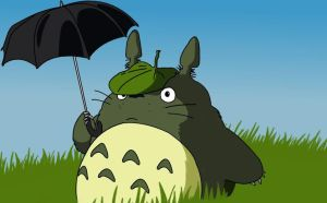 I tought, let's try a Totoro by mzza-art