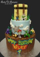 Toy Story Cake by ArteDiAmore