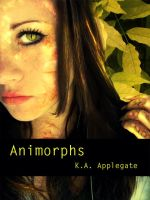 Animorphs Book Cover by CrystallineEssence