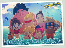 Worlds of Capcom by jaimito