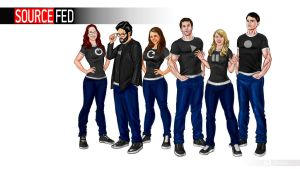 Sourcefed Six by shaunriaz