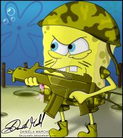 War of Spongebob by DalilaGFX