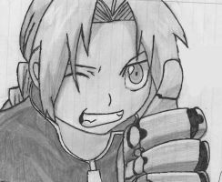 Edward Elric by Stained-GlassHeart82