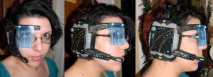 Mass Effect inspired visor by Epic-Fangirl