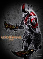 God of War by DrawingSpirit2015