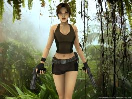 Lara Croft 1 by Christina-Croft