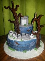 Halloween Cake 2013 by MadameThibodeau