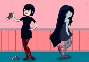 Mavis and Marceline by Misaky