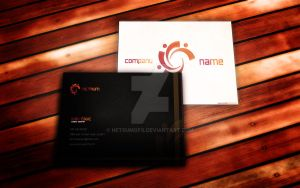 Free Business Card Mockup by NETRUMgFx