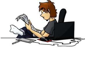 Ray's new Journal Header by Comic-Ray