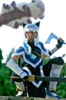 Sokka - Battle Armor Cosplay by mrgoggles