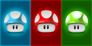 Mushroom iPhone Wallpaper Pack by MitchNied