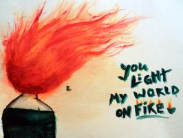 Fire by infectedNcontagious
