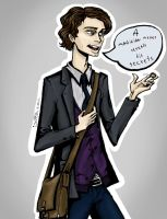Dr. Spencer Reid by Tomakoto