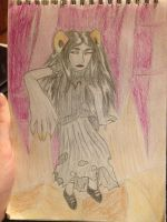 Panel Redraw Aradia by wolphies