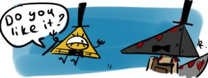 Bill Cipher, 3 by Ayej