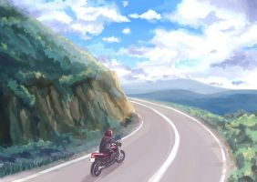 Mountain Road by Rvinguard