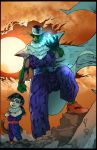 Piccolo and Gohan Chan by puzzlepalette