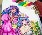 merli and aoki lapis vocaloid by queencastilla