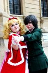 Lizzy and Ciel [COSPLAY] by Akito-OwO
